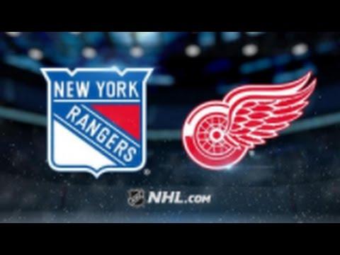 Detroit Red Wings vs. New York Rangers at Little Caesars Arena