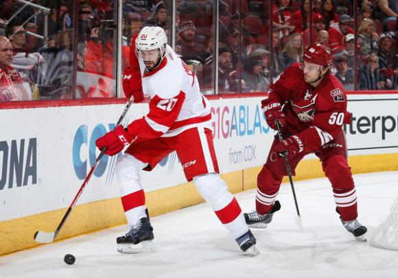 Detroit Red Wings vs. Arizona Coyotes at Little Caesars Arena