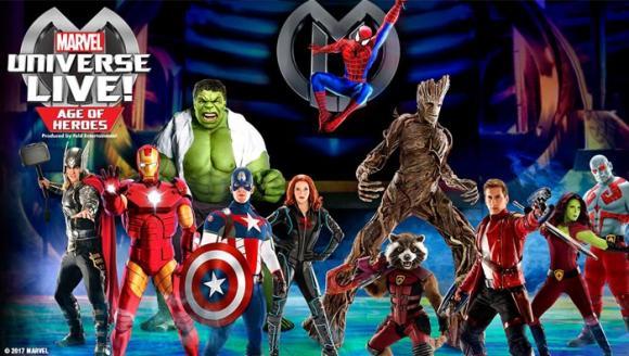 Marvel Universe Live! at Little Caesars Arena