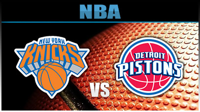 Detroit Pistons vs. New York Knicks at Little Caesars Arena