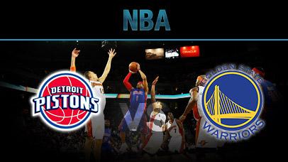 Detroit Pistons vs. Golden State Warriors at Little Caesars Arena