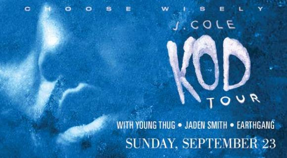 J. Cole, Young Thug, Jaden Smith & EarthGang at Little Caesars Arena