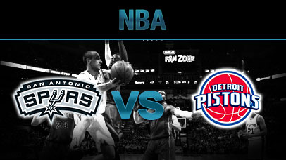 Detroit Pistons vs. San Antonio Spurs at Little Caesars Arena