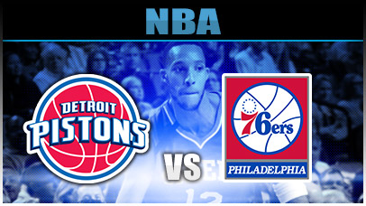 Detroit Pistons vs. Philadelphia 76ers at Little Caesars Arena