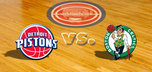 Detroit Pistons vs. Boston Celtics at Little Caesars Arena