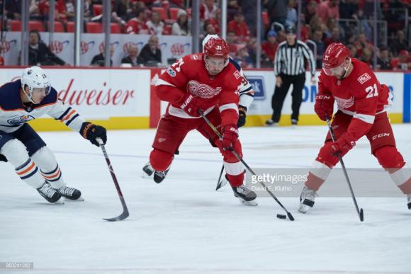 Detroit Red Wings vs. Edmonton Oilers at Little Caesars Arena
