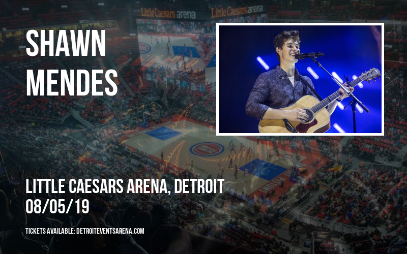 Shawn Mendes at Little Caesars Arena