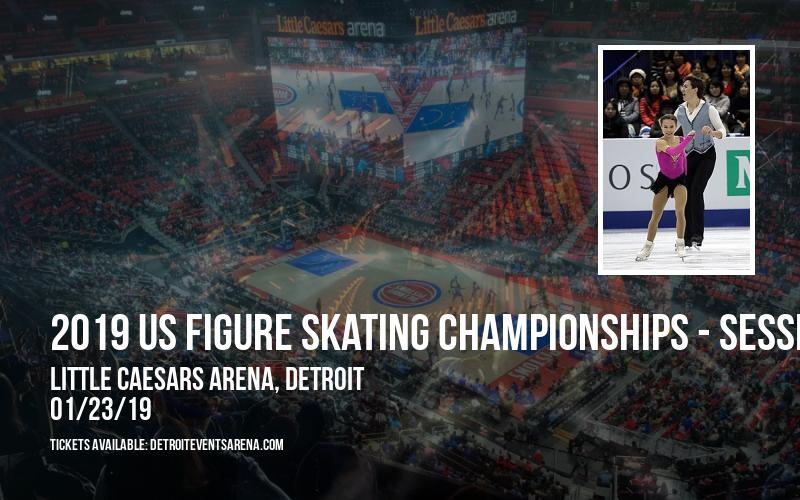 2019 US Figure Skating Championships - Session 3: Junior Ladies Short Program & Junior Short Dance (Time: TBD) at Little Caesars Arena