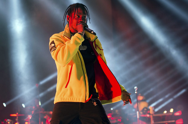 Travis Scott at Little Caesars Arena