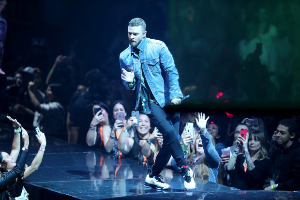 Justin Timberlake at Little Caesars Arena