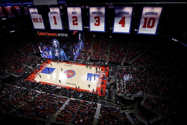 Detroit Pistons vs. Memphis Grizzlies at Little Caesars Arena