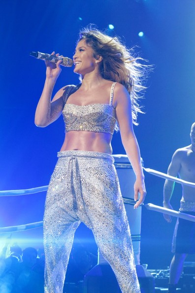 Jennifer Lopez at Little Caesars Arena