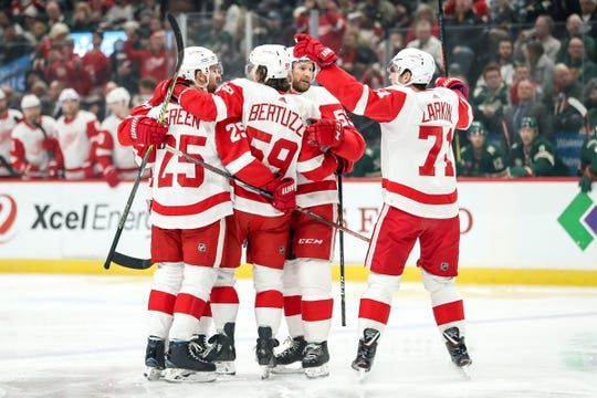 Detroit Red Wings vs. New York Rangers at Little Caesars Arena