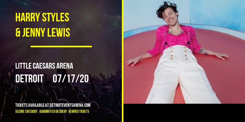 Harry Styles & Jenny Lewis at Little Caesars Arena
