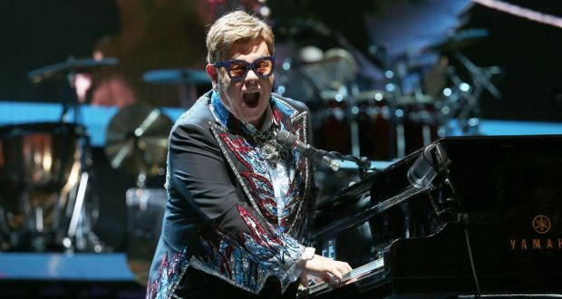 Elton John at Little Caesars Arena