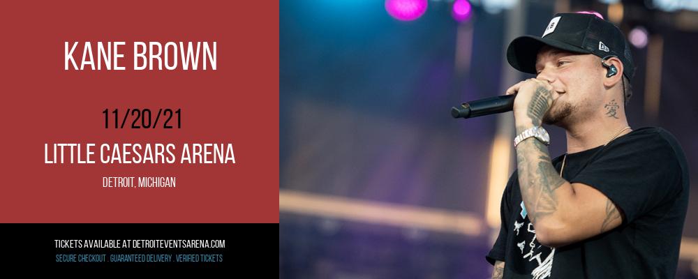 Kane Brown at Little Caesars Arena