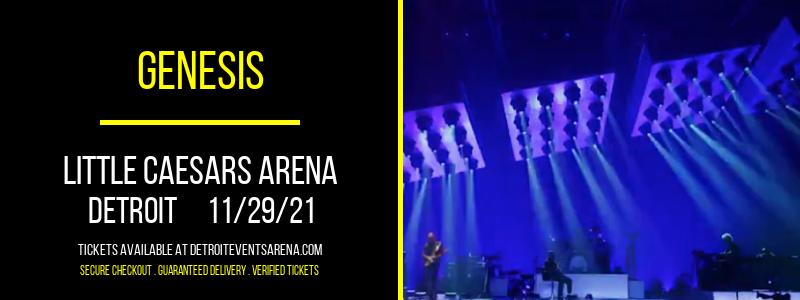 Genesis at Little Caesars Arena
