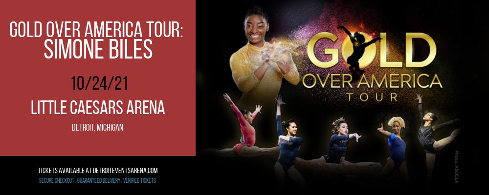 Gold Over America Tour: Simone Biles at Little Caesars Arena