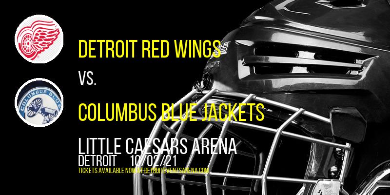 NHL Preseason: Detroit Red Wings vs. Columbus Blue Jackets at Little Caesars Arena