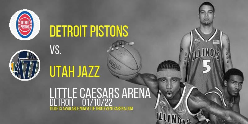 Detroit Pistons vs. Utah Jazz at Little Caesars Arena