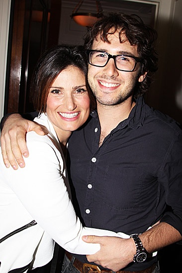 Josh Groban & Idina Menzel at Little Caesars Arena