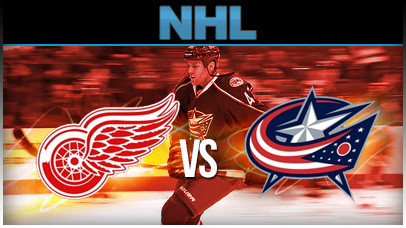 Detroit Red Wings vs. Columbus Blue Jackets at Little Caesars Arena