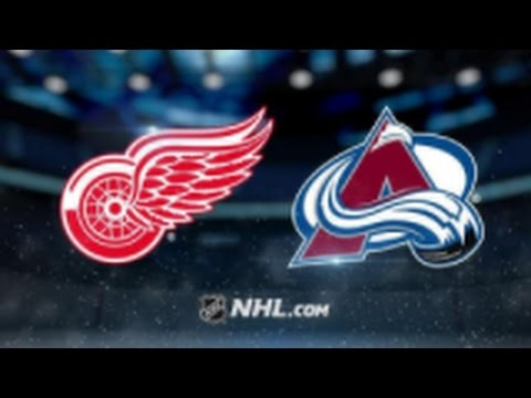 Detroit Red Wings vs. Colorado Avalanche at Little Caesars Arena