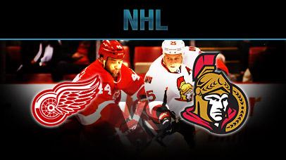 Detroit Red Wings vs. Ottawa Senators at Little Caesars Arena