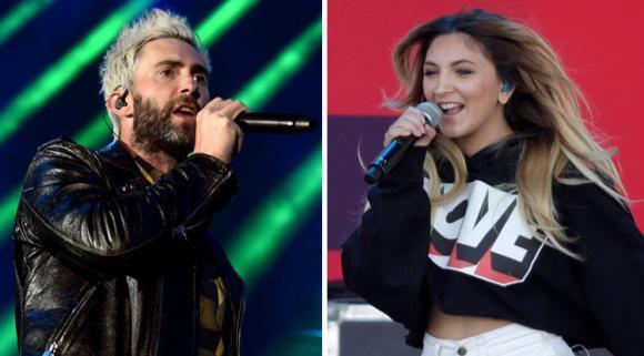 Maroon 5 & Julia Michaels at Little Caesars Arena