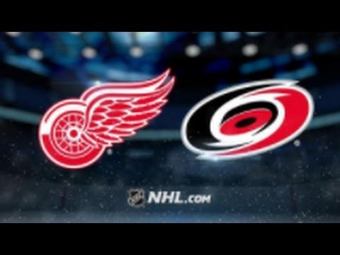 Detroit Red Wings vs. Carolina Hurricanes at Little Caesars Arena