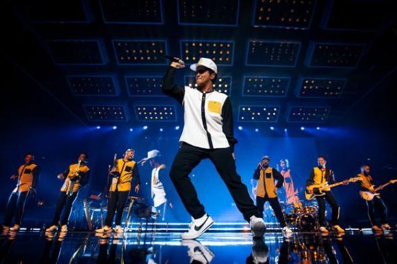 Bruno Mars at Little Caesars Arena