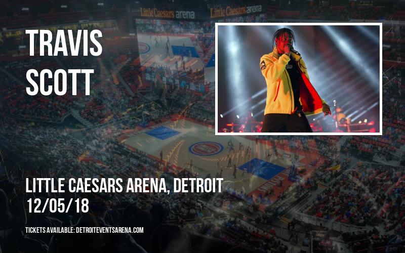 Travis Scott at Little Caesars Arena