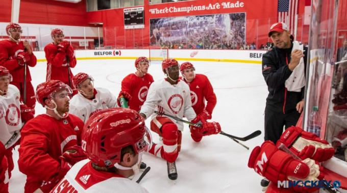 Detroit Red Wings vs. San Jose Sharks at Little Caesars Arena