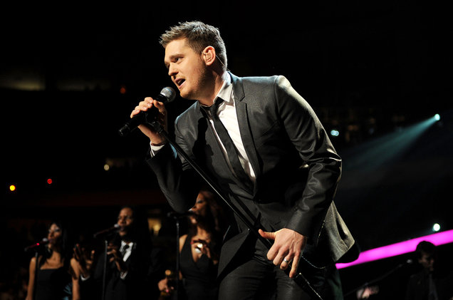 Michael Buble at Little Caesars Arena