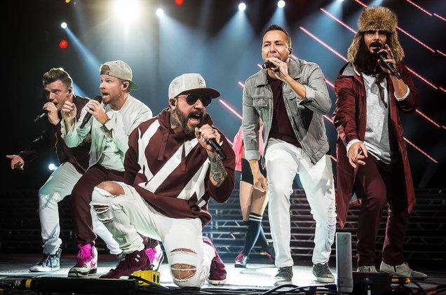 Backstreet Boys at Little Caesars Arena