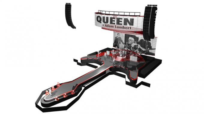 Queen & Adam Lambert at Little Caesars Arena