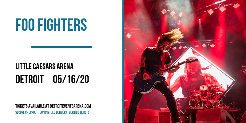 Foo Fighters at Little Caesars Arena