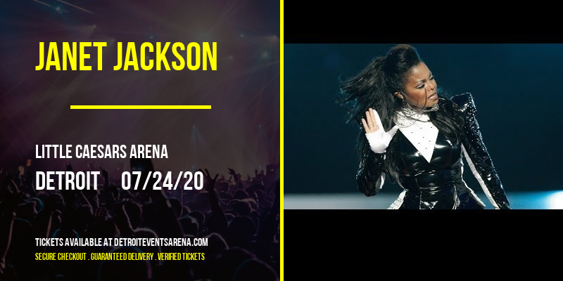 Janet Jackson [CANCELLED] at Little Caesars Arena