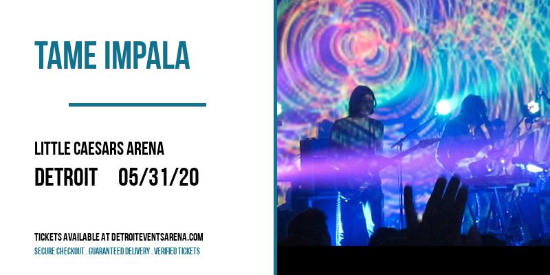 Tame Impala at Little Caesars Arena