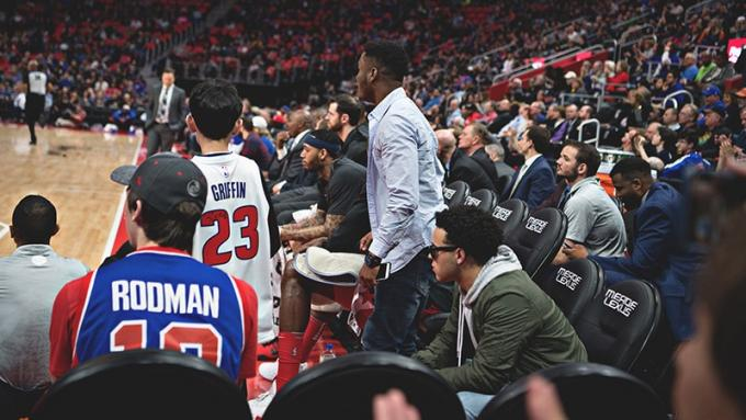 2020 Detroit Pistons Season Tickets (Includes Tickets To All Regular Season Home Games) at Little Caesars Arena