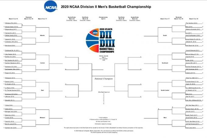NCAA Men's Basketball Tournament: Rounds 1 & 2 - Session 1 (Time: TBD) [CANCELLED] at Little Caesars Arena