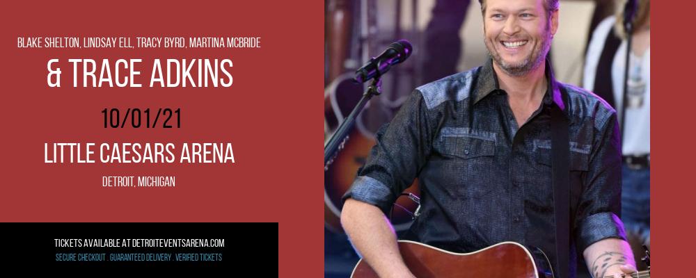 Blake Shelton at Little Caesars Arena