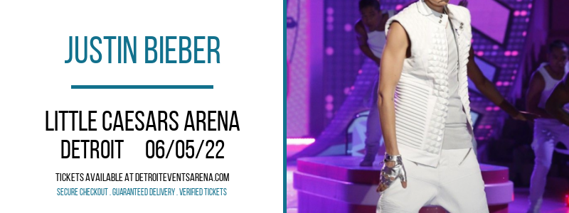 Justin Bieber at Little Caesars Arena