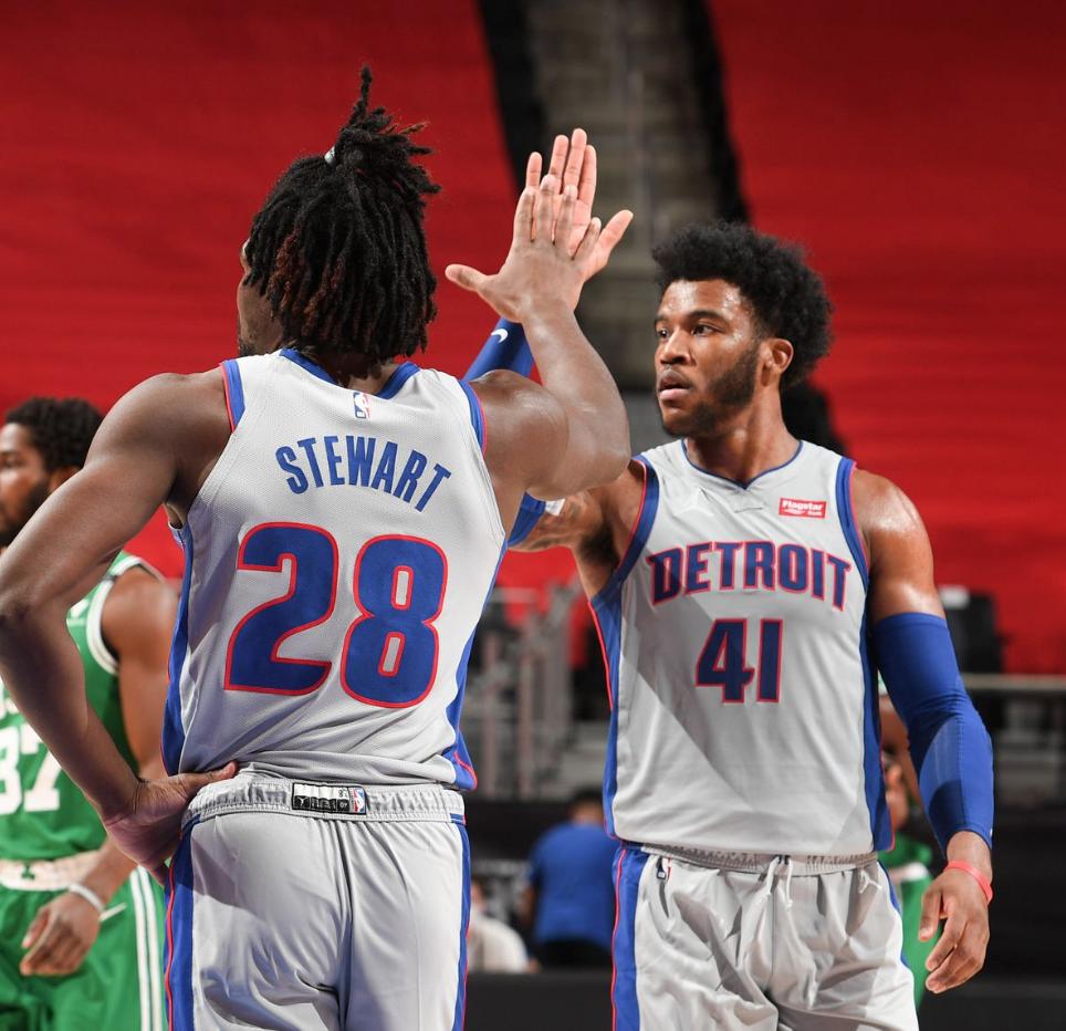 Detroit Pistons vs. Milwaukee Bucks at Little Caesars Arena