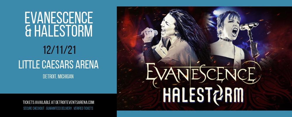 Evanescence & Halestorm at Little Caesars Arena