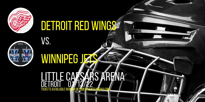 Detroit Red Wings vs. Winnipeg Jets at Little Caesars Arena